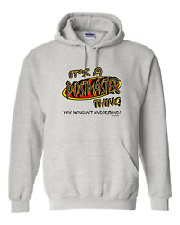 Pullover Hooded Sweatshirt Itand039s A Postmaster Thing You Wouldnand039t Understand