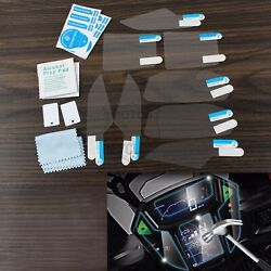 2 Sets Instrument Scratch Protection Film Clear Sticker For Honda Crf1000l 2016