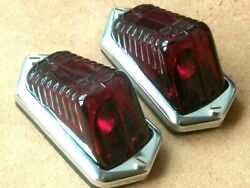Austin Seven 7 Pair Of Rear Lamps Wing Mounted 1935-39
