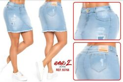 Ene 2 Skirt Jeans Colombianos Authentic Colombian Skirt Usa Size 7 And 9