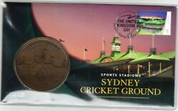 2019 Australia Medallion Pnc - Day 2 Sydney Stamp And Coin Expo - Cricket Ground