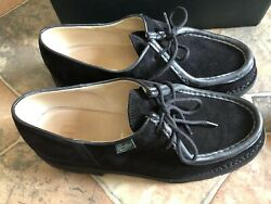 Paraboot Michael Black Suede Limited Japan Noah Preppy Made in France Sz 42.5 9 $379.00