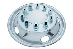 22 1/2 O.d. Stainless Steel Front Simulator Set - 5 Vent Hole, Stud Piloted