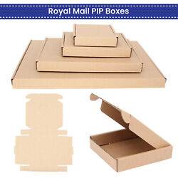 Shipping Mailing Packing Postage Box Pip Large Letter Royal Mail Cardboard Boxes