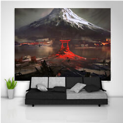 Torii Gate Tapestry Art Wall Hanging Sofa Table Bed Cover Poster