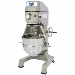 Planetary Mixer countertop 40‐quart 304 stainless steel bowl Globe SP40