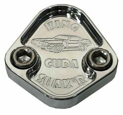 Fuel Pump Block Off Plate Fits Plymouth Cuda 440 Shaker Engines F037