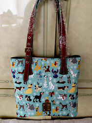Disney Dooney And Bourke New 2017 Disney Dogs Blue Purse/tote