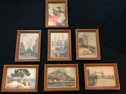A.Marc Nicolas Markovitch Art Collection 1 Original And SIx Lithographs