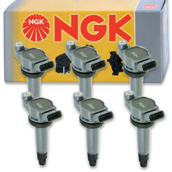6 pcs NGK 48930 Ignition Coil for U5146 E1006 IC586 UF430 8415207 IC550 ph