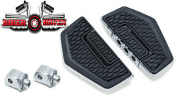 Kuryakyn 5908 Front /rear Hex Folding Boards And Adapter Kit Chrome 14-15 Valkyrie