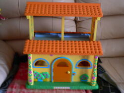 Dora The Explorer Talking Play Dollhouse Pop Up Big Doll House Toy Only