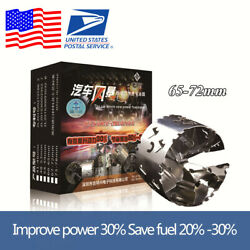 1pcs Stainless Steel 65-72mm Car Turbo Air Intake Fuel Gas Oil Saver Accelerator