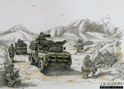 Sas Special Air Service Afghanistan War Operation Signed Military Art Printandnbsp