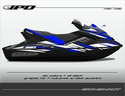 Ipd Jet Ski Graphic Kit For Sea Doo Gen-1 Rxt And Gtx 4-tec Gh Design