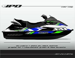 Ipd Jet Ski Graphic Kit For Sea Doo Gen-1 Gti And Gtx Rm Design
