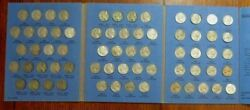 Complete Set 1938-59 Jefferson Nickels Collection Silver War 1950-d Bulk And Save