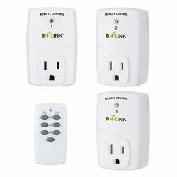 BN LINK Mini Wireless Remote Control Outlet Switch Power Plug $25.99