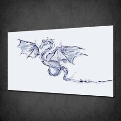 Water Dragon Canvas Picture Print Wall Hanging Art Home Decor Free Pandp