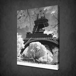 Paris Eiffel Tower Canvas Print Picture Wall Hanging Art Free Fast Uk Delivery