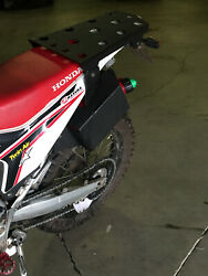 Honda Crf250l Oversized Rear Rack With Auxiliary Spare Fuel Carrier Adv System