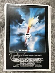 And039supermanand039 Genuine Signed Autograph Christopher Reeve Gene Hackman Kidder + 6