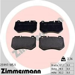 FRONT Brake Pads For Mercedes-Benz C-Class W205 S205 C205 A205 (2014-present) Zi