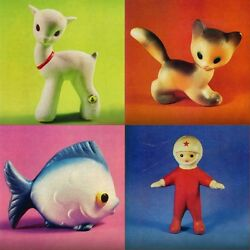 5 Catalogs Of Rubber Toy Doll Factory Red Triangle Ussr Leningrad Book On Jpg