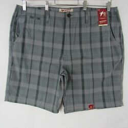 Arizona Jeans Mens Size 42 Casual Check Plaid Shorts Classic Fit New