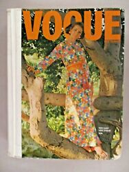 Vogue Patterns Catalog - 1970 Large Store Counter Pattern Book