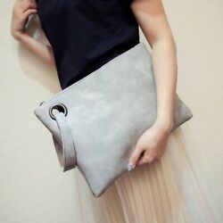 Crocodile Women#x27;s Clutch Bag Pu Leather Women Envelope Evening Clutches Purse $8.84