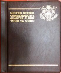 New 1999-2009 Us 56p And 56d State And Territorial 25 Cents Empty Album