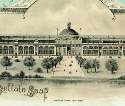 1893 World's Fair Bell's Buffalo Soap Agricultural Bldg Image Knerr And Wolle P172