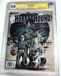 Cgc 9.8 Ss Horrorhound 67 Signed By The 8 Kids Of It Wolfhard Grazer Lillis