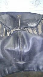 signed willy G leather jacket