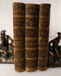 Antiquarian Book The Complete Works Of William Shakespeare 3 Vols 1865