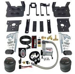 Rear Suspension Air Bag Towing Kit On Board Control For 11-16 Ford F250 F350 4x4