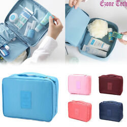 Travel Cosmetic bag Makeup Bag Toiletry Case Hanging Pouch Wash Organizer Bag $5.95