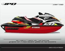Ipd Jet Ski Graphic Kit For Yamaha Fzr And Fzs Kw Design