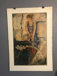 Olympian Myth Janet Trely Signed Serigraph 69/385