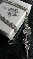 Final Fantasy Xiii Serah Farron Necklace And Ring | Ff13 Cosplay Dissidia Squalf/s