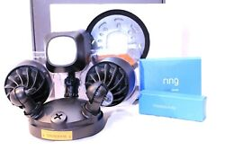 Ring Floodlight Hd Security Camera Motion-activated 2 Way Talk Siren Alarm