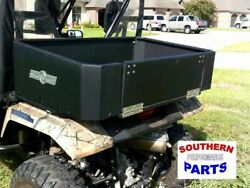 Strong Made Aluminum Cargo Box With Tail Gate Honda Pioneer 500 2016-2021