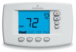 Digital Programmable Multi-Stage Emerson Blue Easy Reader Thermostat 1F95EZ-0671