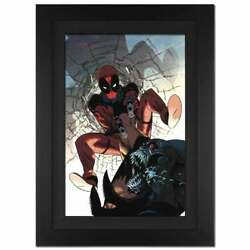 Deadpool 6 Signed By Stan Lee - Limited Edition Marvel Comics Canvas