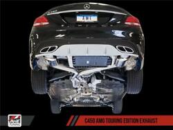 Awe Tuning For Mercedes-benz W205 C450 Amg / C400 Touring Edition Exhaust - Awe3
