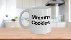 Cookie Mug White Coffee Cup Funny Gift For Mom Dad Monster Milk Hot Chocolate