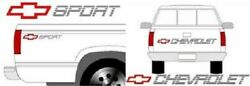 Chevy Sport Kit Truck Tailgate And Bedside Decals 90-91 Style Fits Chevrolet