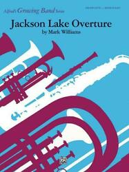 Jackson Lake Overture Learn To Play Concert Band Music Book Set Score And Parts