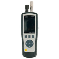 Dt-9881 Particle Counter Gas Hcho,co Detector Air Temp And Humidity Meter